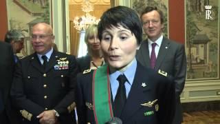 Mattarella nomina Samantha Cristoforetti Cavaliere di Gran Croce