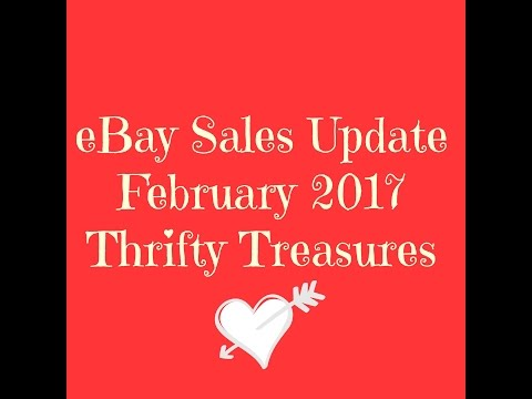 eBay Sales Update February 2017