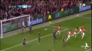 Manchester United FC 1-1 FC Bayern München All Goals and Highlights 01-04-2014