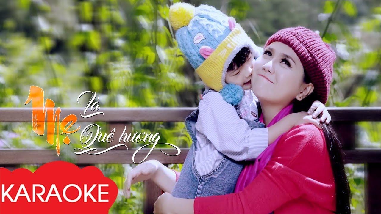 Mẹ Là Quê Hương - Karaoke Beat Chuẩn | Nhạc Karaoke Thiếu Nhi Dành Cho Bé Tập Làm Ca Sĩ
