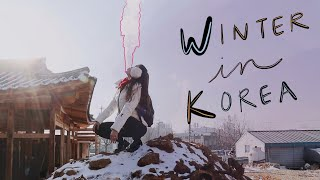 KOREA: winter 2018-2019 travel vlog