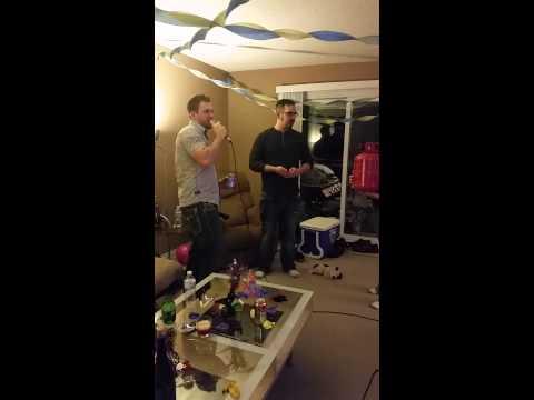 Helium Karaoke Time warp!