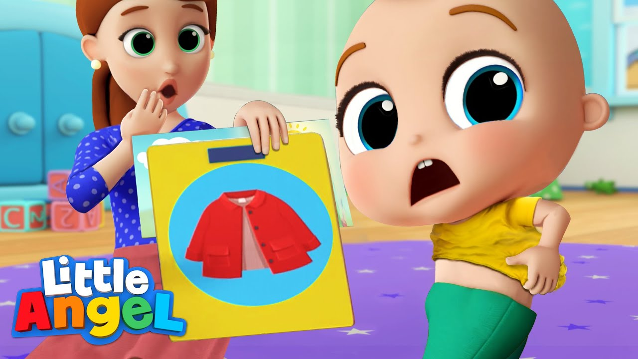 Getting Ready For School | Morning Routine Song | Little Angel Kids Songs & Nursery Rhymes