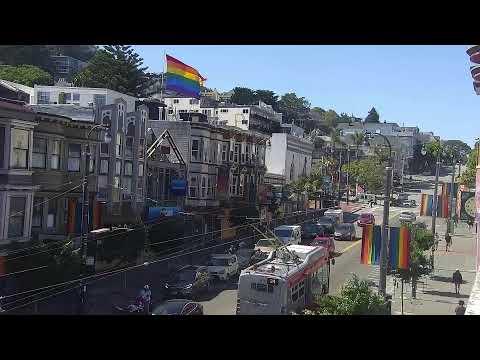 Castro Street Cam 1 Live Stream