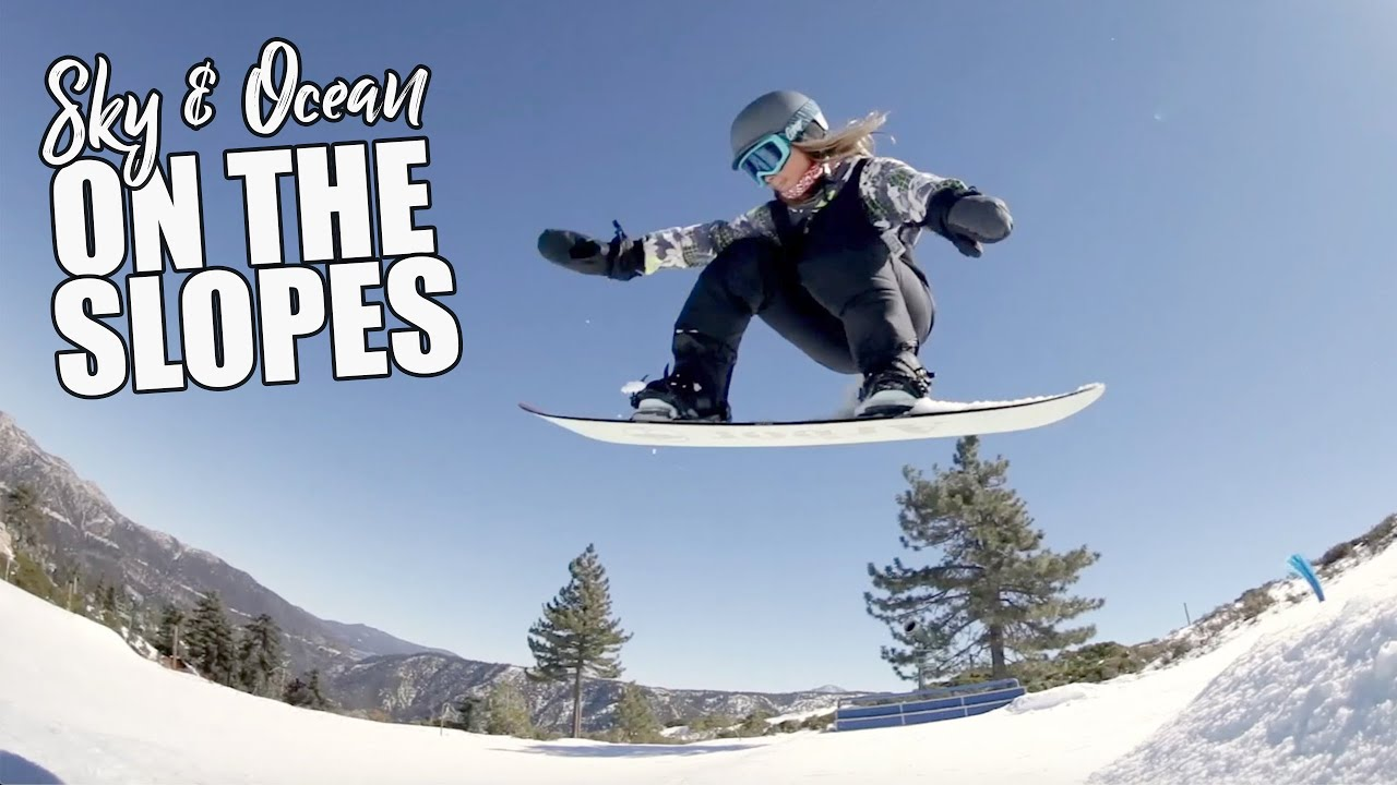 BIG AIRS ON THE MOUNTAIN   Snowboarding with Jackson Dorian, Sawyer Lindblad