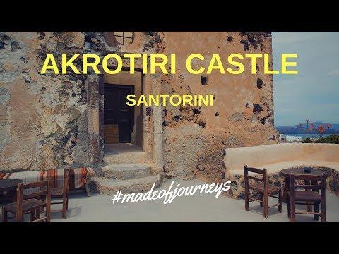 Akrotiri Castle, Santorini | Greece Travel Guide By Made of Journeys