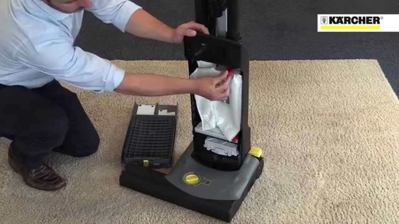 k rcher cv 38 2 adv cv 48 2 adv upright vacuum cleaners youtube. Black Bedroom Furniture Sets. Home Design Ideas