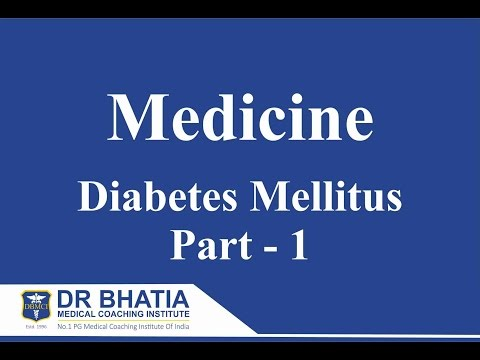 Medicine -  Diabetes Mellitus 1