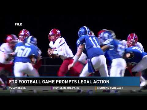 East Texas Football Game Prompts Legal Action by Hawkins Against Cushing