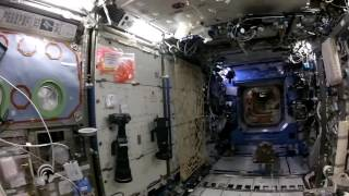 Samantha Cristoforetti tours the ISS for the last time [11 June 2015]