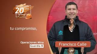 Premiación al equipo de Operaciones Mina Guardia B