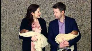 Frederik, Mary & their  newborn twins leave the hospital - 1 (2011) Thumbnail