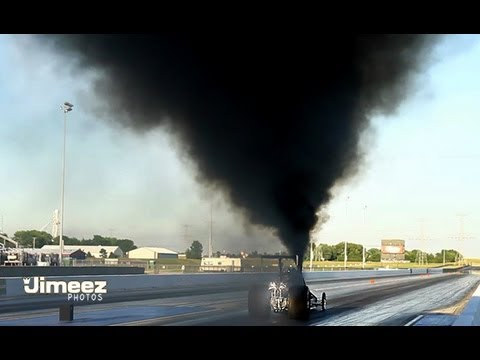 TRIPLE TURBO DIESEL DRAGSTER TEST HIT AT RT66! NEW VIDEO LINK IN DESCRIPTION!