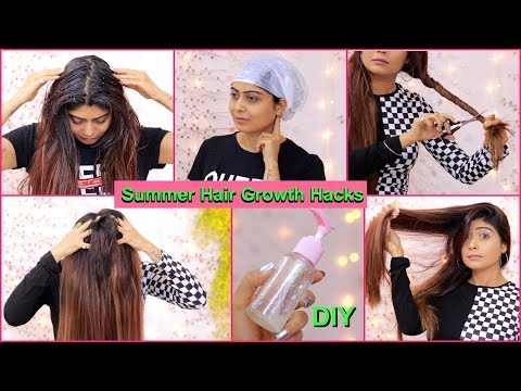 8 SUMMER HAIR CARE HACKS - For Hair Growth, Dry Hair, Hair fall, Dandruff & Split Ends | Rinkal Soni