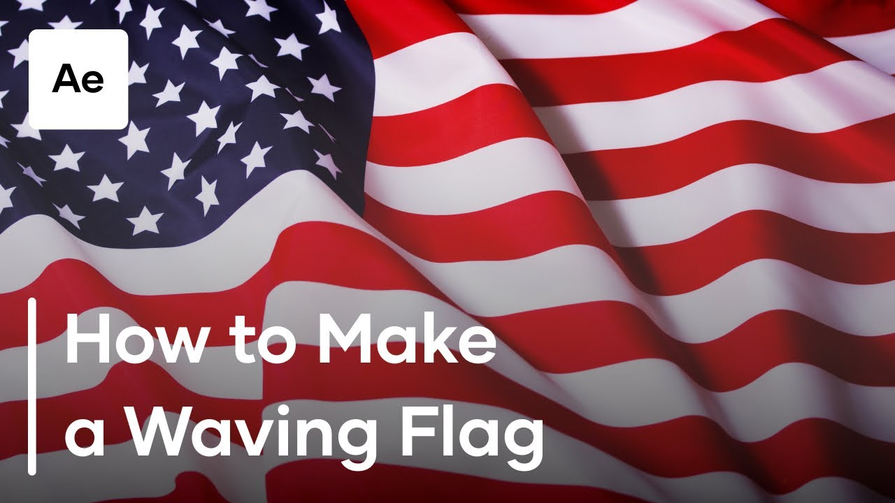 9c2285fe95dc How To Make A Waving Flag In After Effects. Motion Array Tutorials