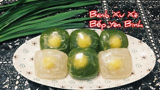 Bánh Xu Xê ( Phu Thê ) cách làm rất dễ. Bánh làm từ bột lọc, Bếp Yên Bình.