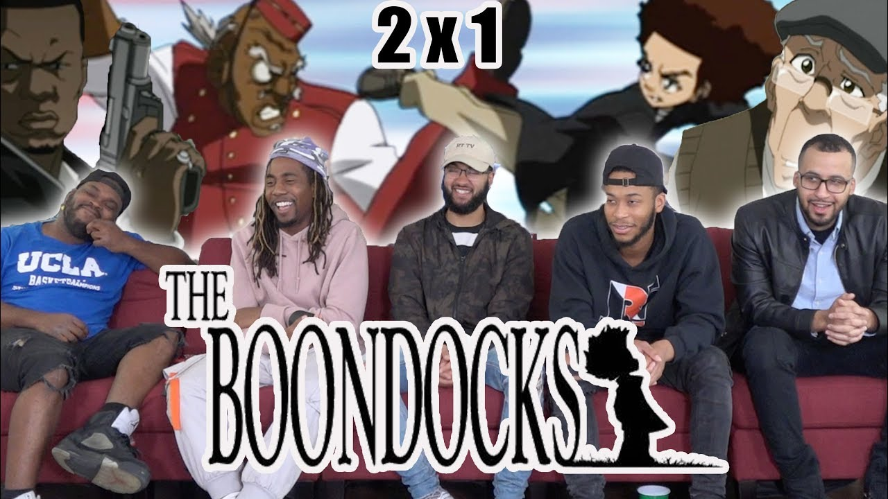 """Download The Boondocks 2 x 1 Reaction! """"Or Die Trying"""""""