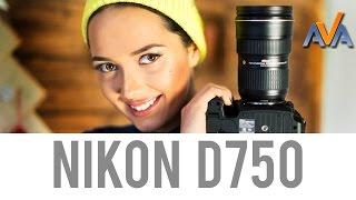 Обзор фотоаппарата Nikon D750 от AVA.ua(Видео #обзор - #фотоаппарат #Nikon #D750 от http://ava.ua/. Сравнить цены: http://ava.ua/product/792706/Nikon-D750-Body/. О преимуществах и..., 2014-12-18T11:21:28.000Z)