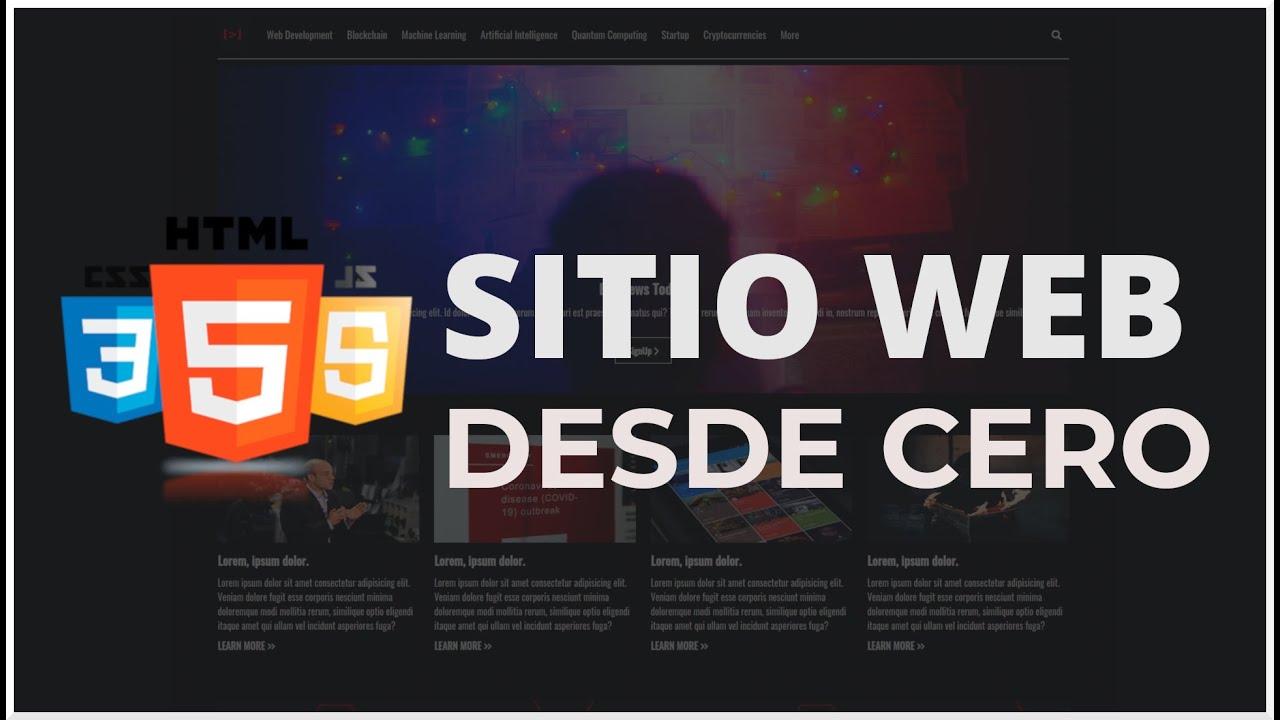 Sitio Web con HTML, CSS y Javascript (Flexbox, CSS Grid y ScrollReveal)