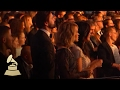 Carrie Underwood Head Banging to Lady Gaga and Metallica | Audience Cam | 59th GRAMMYs