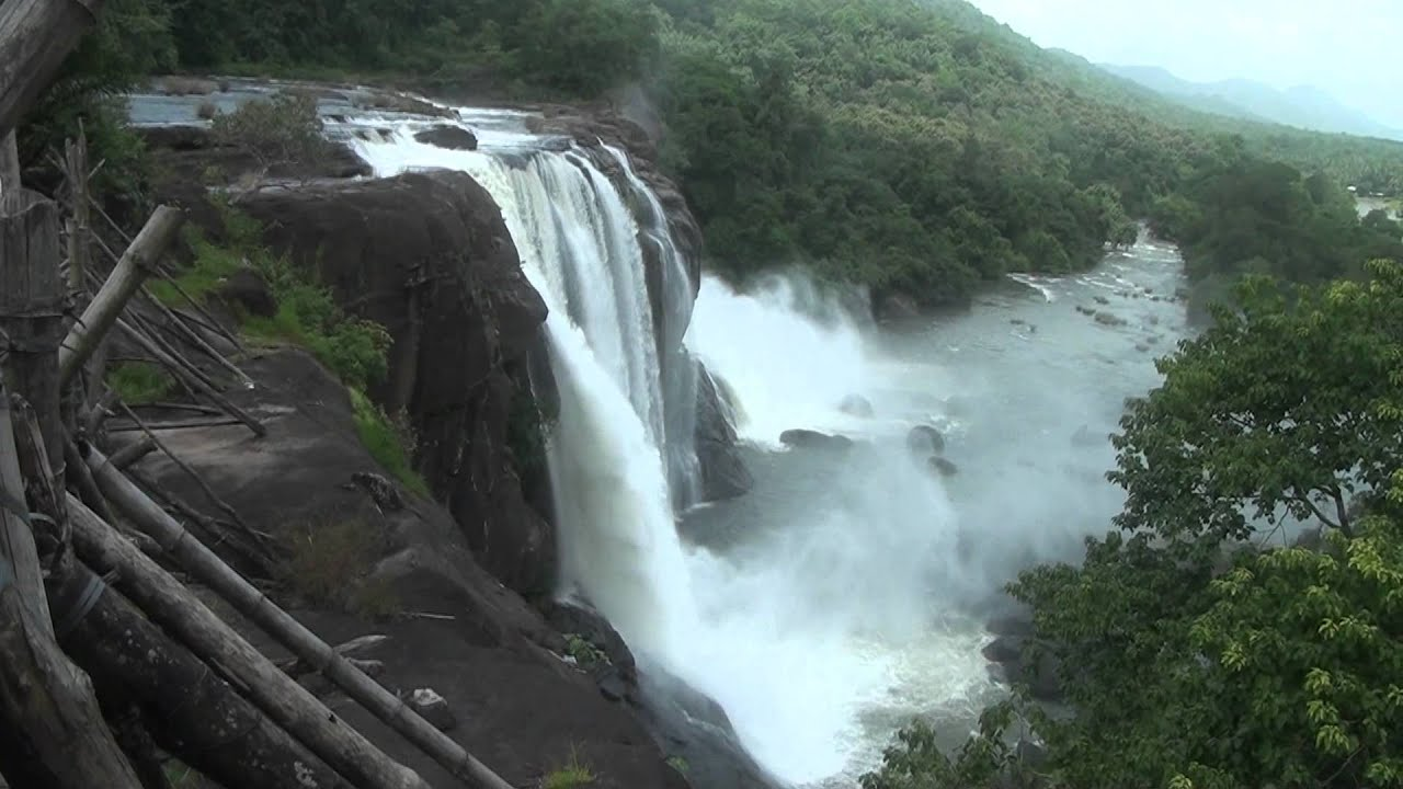 Athirappilly Water Falls, Kerala, India - YouTube