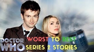 Worst to Best Doctor Who Series 2 Stories