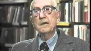 Karl Menninger - Forsaking Vengeance and Retaliation, 1984