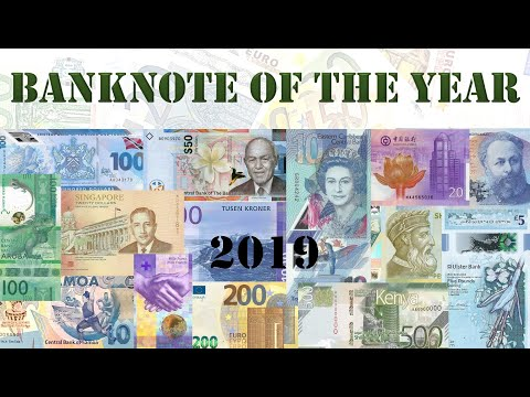 Banknote of the Year - 2019
