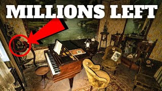 Unbelievable abandoned mansion (MILLIONS WORTH OF ANTIQUES FOUND)