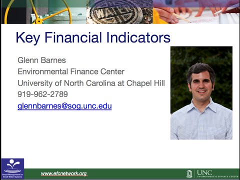 WEBINAR: Is Your Water System Financially Healthy? Key Financial Indicators