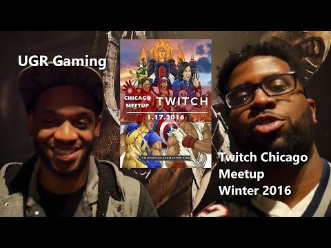Selfie Convo W/ UGR Gaming Twitch Chicago Winter 2016
