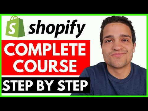 Complete Shopify Tutorial For Beginners 2020 - How to Create a Profitable Shopify Store from Scratch thumbnail