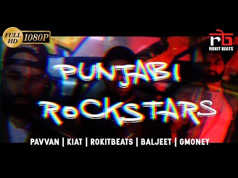 Rockstar Punjabi Remix (Post Malone x Pavvan x GMoney x Sandhua x Kiat x Rokitbeats) Full Video