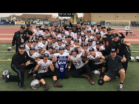 RECAP: 2017 CIF Sac-Joaquin Section D5 Football Championship   Bear River vs. Colfax