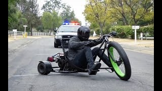 EPIC POLICE CHASE!