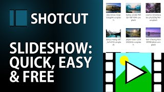 Create Slideshows from Photos in SECONDS | Quickest, Easiest, FREE Slideshow with Music | Shotcut screenshot 3