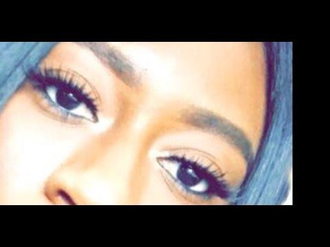 How to apply false eyelashes for beginners  BREA LYNN