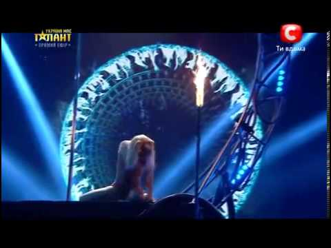 Ukraine's Got Talent - Anastasia Sokolova - Pole Dance (Semi Final)