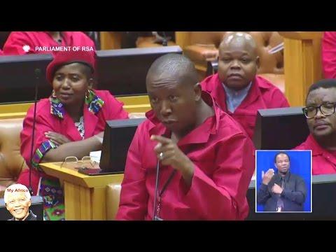 Julius Malema And Floyd Shivambu WARNS ANC In Parliament