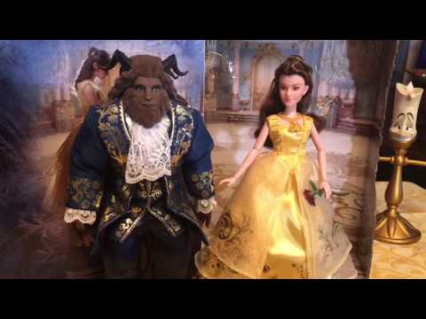 Live Action Beauty And The Beast Grand Romance Doll Set By Hasbro