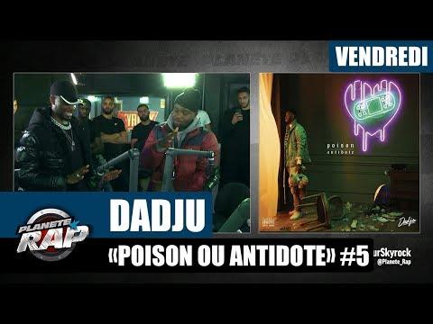 Youtube: Planète Rap – Dadju«Poison ou Antidote» #Vendredi