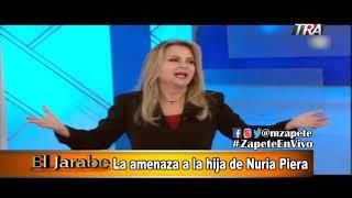 La amenaza a la hija de Nuria Piera El Jarabe Seg-3 16-09-19