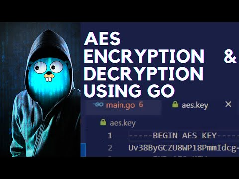 AES Encryption Decryption in GOLANG | AES Golang | Golang Tutorial