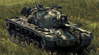 M48A1 Patton - ТОП СТРЕЛЬБА / 5 МИНУТ БОЙ / 8500 УРОНА