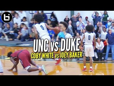 WHO GOT DROPPED?!? Co White UNC BATTLES Joey Baker DUKE & Duo Combine for 64 points!