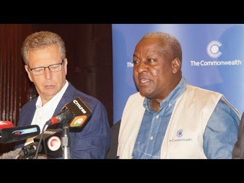 Former Ghanaian leader urges Kenya to hold peaceful polls