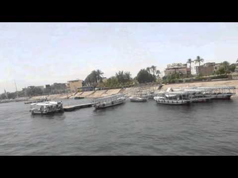 Ferry from East Bank to West Bank - Luxor, Egypt