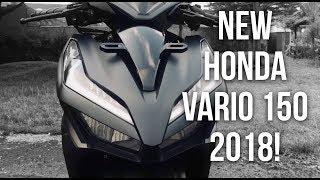 Review New Honda Vario 150 2018! - #67 Bahas Fitur, Tampilan dan Test Ride New Honda Vario 150 2018