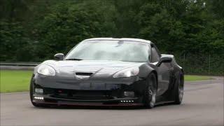 920 HP Corvette ZR1 - Burnout and massive sound