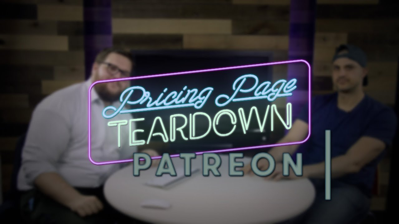 How to Price Your Patreon Page | Pricing Page Teardown